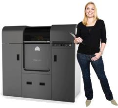 ProJet™ 5000精度最高的大尺寸3D打印机