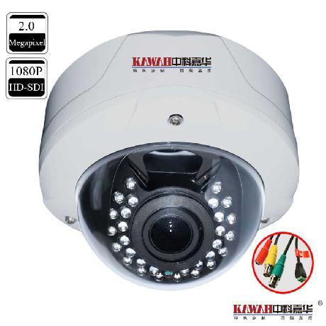 1080PHD-SDI红外防暴半球